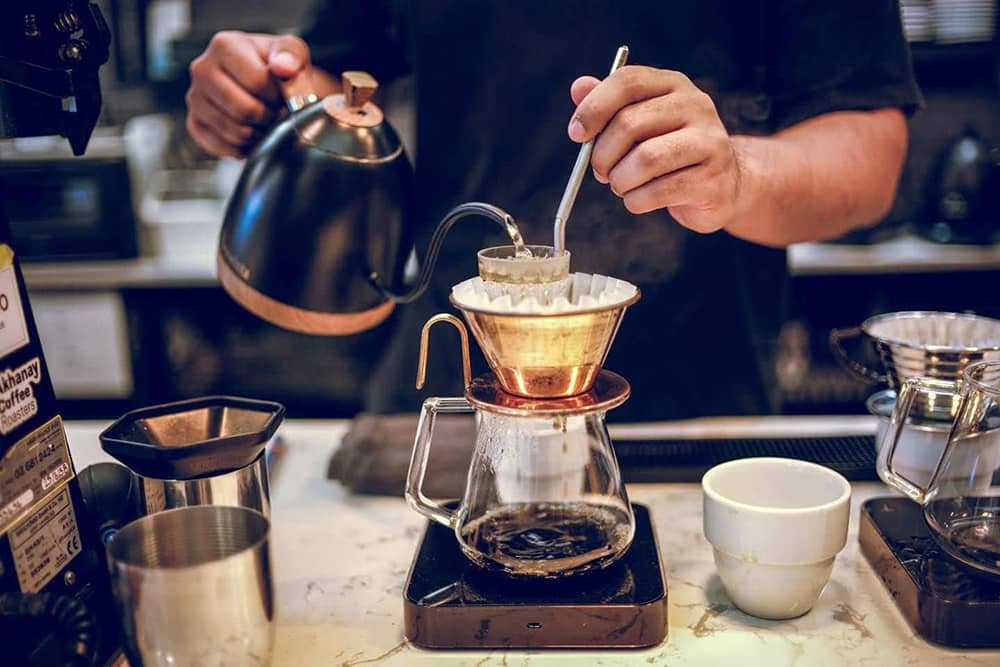 pha chế specialty coffee