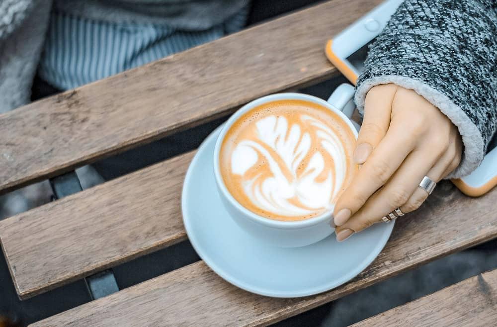 cốc cafe latte