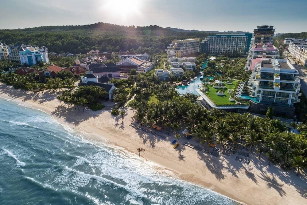 dải resort bên bờ biển Phú Quốc