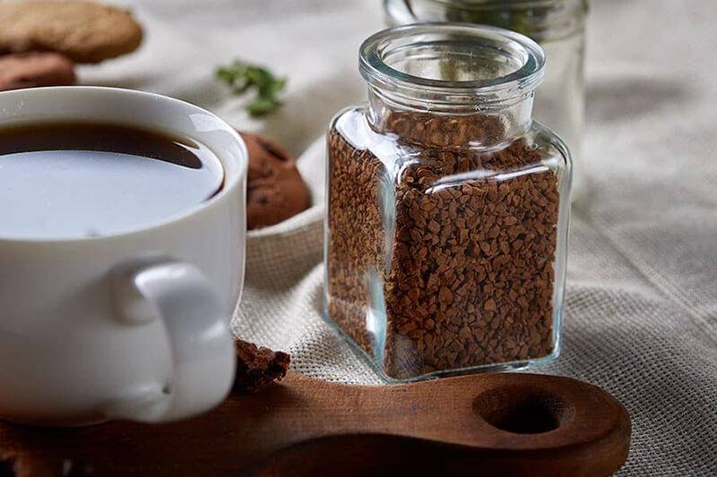 lọ thủy tinh đựng cafe