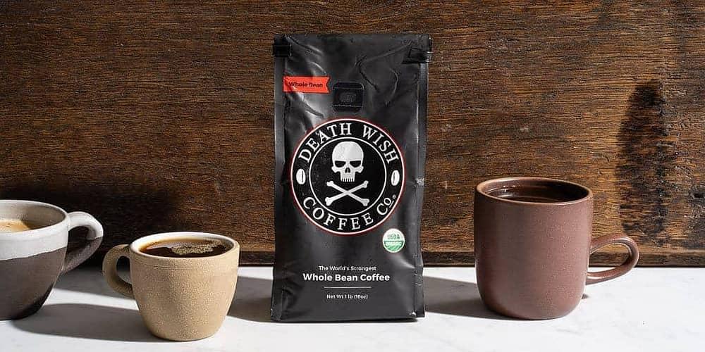 death wish coffee - cafe mạnh nhất thế giới