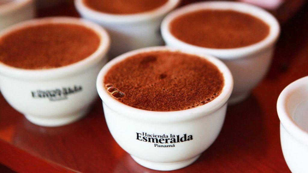 Hacienda La Esmeralda cafe