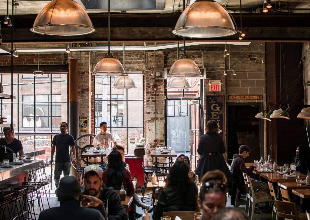 quán cafe đông khách