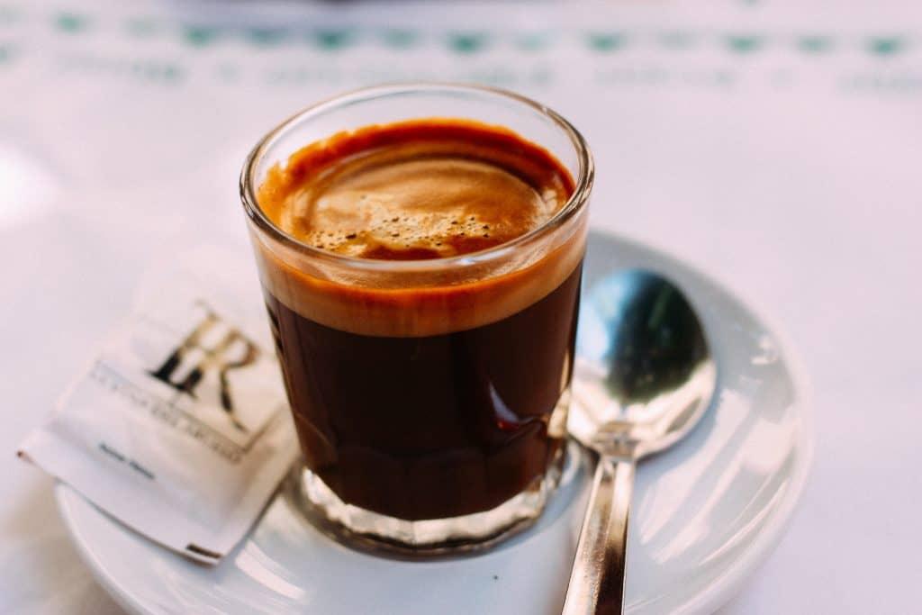 bọt cafe espresso