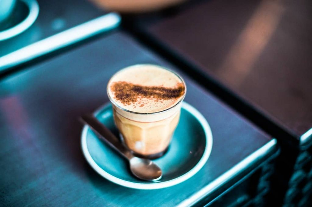 cốc cafe cappuccino