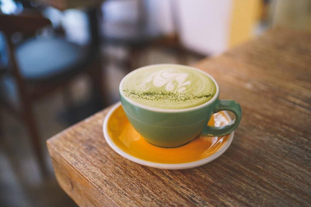 cốc matcha latte