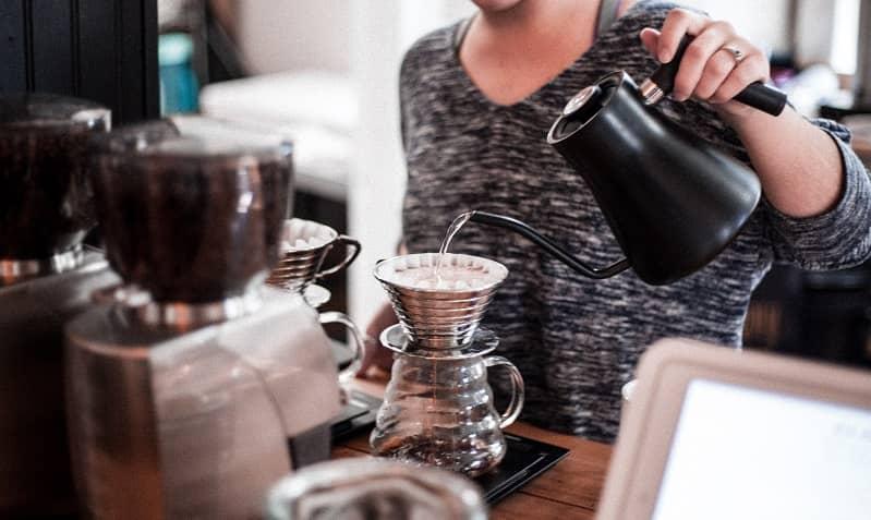 ủ cà phê giấy lọc thủ công
