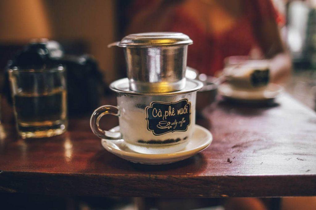 cách làm cà phê muối