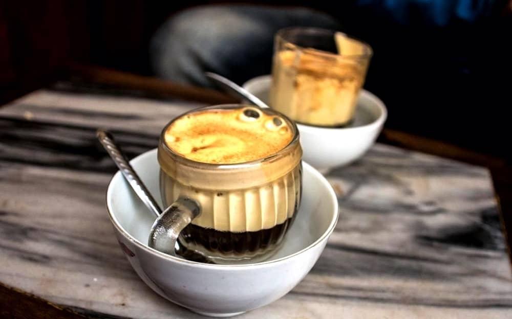 cách làm cafe trứng Việt Nam