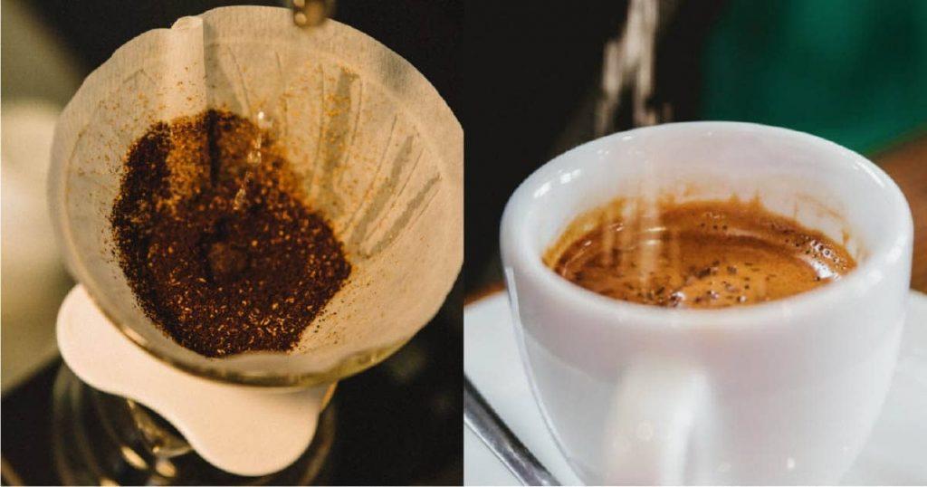 trộn muối vào cà phê